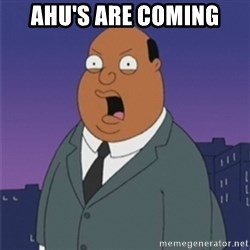 ollie williams - AHU'S ARE COMING