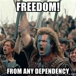 Brave Heart Freedom - FREEDOM! FROM ANY DEPENDENCY