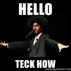 AFRO Knows - Hello Teck How