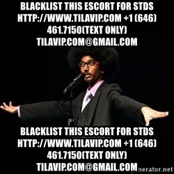 AFRO Knows - blacklist this escort for stds http://www.TILAVIP.com +1 (646) 461.7150(text only) TilaVIP.com@gmail.com blacklist this escort for stds http://www.TILAVIP.com +1 (646) 461.7150(text only) TilaVIP.com@gmail.com