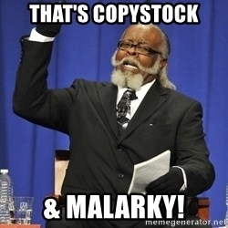 Jimmy Mcmillan - That's Copystock & Malarky!