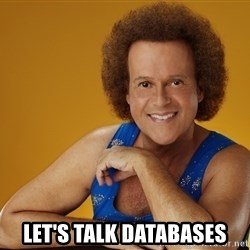 Gay Richard Simmons -  Let's talk daTabases