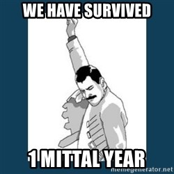 Freddy Mercury - WE HAVE SURVIVED 1 MITTAL YEAR