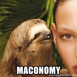 The Rape Sloth -  maconomy