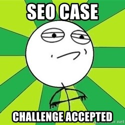 Challenge Accepted 2 - SEO case Challenge accepted