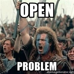 Brave Heart Freedom - open problem