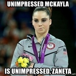 McKayla Maroney Not Impressed - Unimpressed mckayla Is unimpressed, zaneta