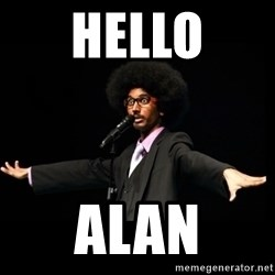AFRO Knows - Hello alan