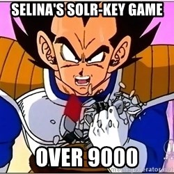 Over 9000 - selINA's solr-key game over 9000