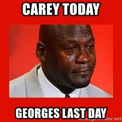 crying michael jordan - CAREY TODAY GEORGES LAST DAY