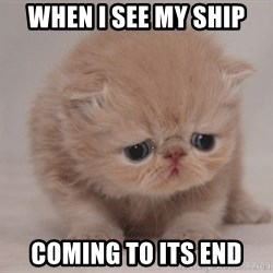 Super Sad Cat - When i see my ship coming to its end