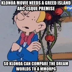 Fantasio thinks Spirou has the magic touch - Klonoa movie needs a Greed Island arc-esque premise So Klonoa can compare the dream worlds to a MMORPG