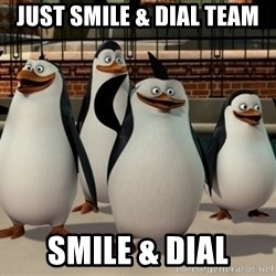 Madagascar Penguin - just smile & dial team smile & dial