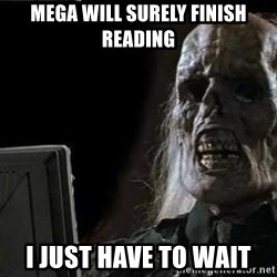 OP will surely deliver skeleton - MEGA WILL SURELY FINISH READING I just have to wait