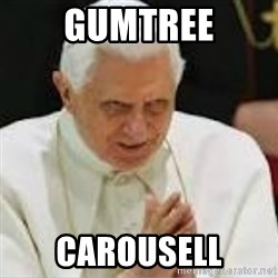 Pedo Pope - Gumtree Carousell