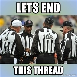 NFL Ref Meeting - lets end this thread
