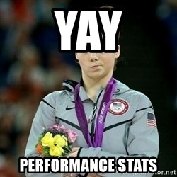 McKayla Maroney Not Impressed - Yay performance stats