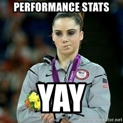 McKayla Maroney Not Impressed - Performance Stats yay