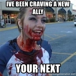 Scary Nympho - Ive been craving a new ally Your next
