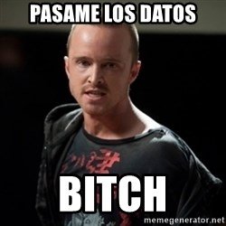 Jesse Pinkman says Bitch - PASAME LOS DATOS BITCH
