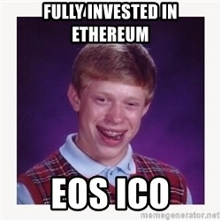nerdy kid lolz - fully invested in ethereum EOS ico