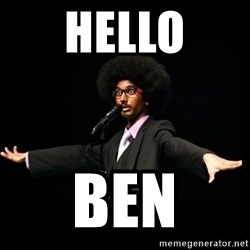 AFRO Knows - hello Ben