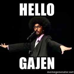 AFRO Knows - hello Gajen