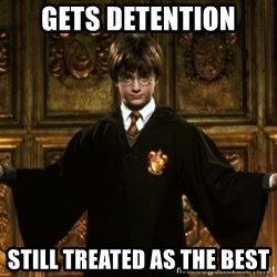Harry Potter Come At Me Bro - Gets detention still treated as the best