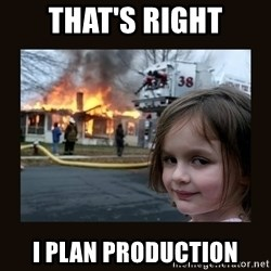 burning house girl - THAT's Right I PLAN PRODUCTION