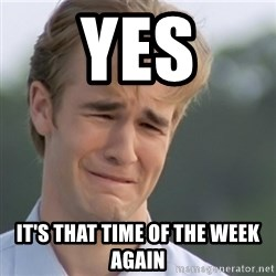 Dawson's Creek - Yes It's that time of the week again