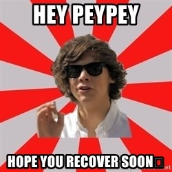 One Does Not Simply Harry S. - Hey peypey HOPe you recover soon👍
