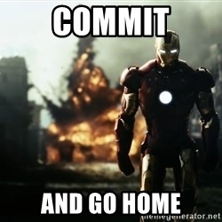 iron man explosion - COMMIT AND GO HOME