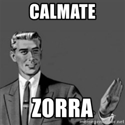 Correction Guy - Calmate zorra