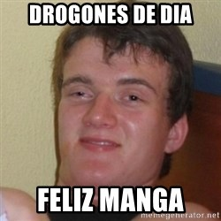 Really Stoned Guy - DroGones De dia Feliz manga