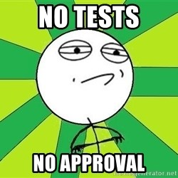 Challenge Accepted 2 - no tests no approval