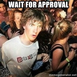 -Sudden Clarity Clarence - Wait for approval