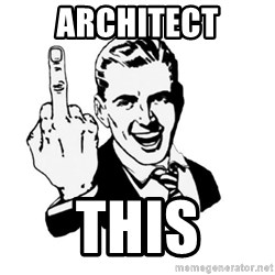 middle finger - architect this
