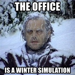 Frozen Jack - The Office Is A Winter Simulation