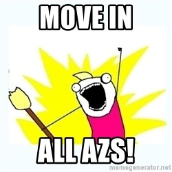 All the things - Move in all Azs!