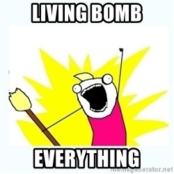 All the things - LIVING BOMB EVERYTHING