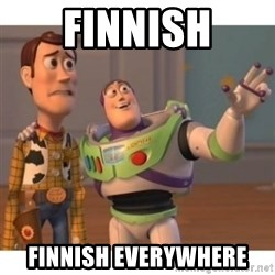 Toy story - finnish finnish everywhere