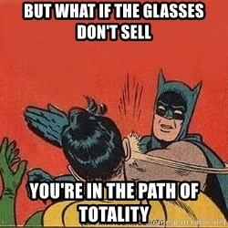 batman slap robin - but what if the glasses don't sell you're in the path of totality