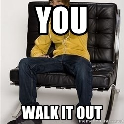 Justin Bieber Pointing - you walk it out