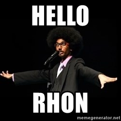 AFRO Knows - hello Rhon