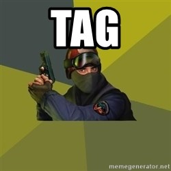 Counter Strike - tag