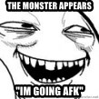 """Sweet Jesus Face - THE MONSTER APPEARS """"IM GOING AFK"""""""