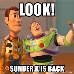 Consequences Toy Story - look! Sunder.k is back