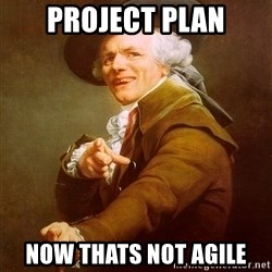 Joseph Ducreux - Project plan now thats not agile