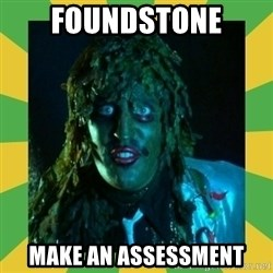 Old Greg - foundstone Make an assessment