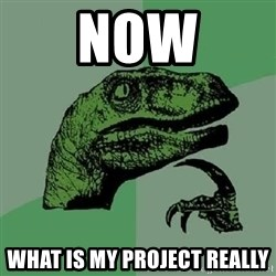 Philosoraptor - NoW What is my project really